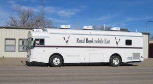 NM State Library Bookmobile at the Logan Civic Center