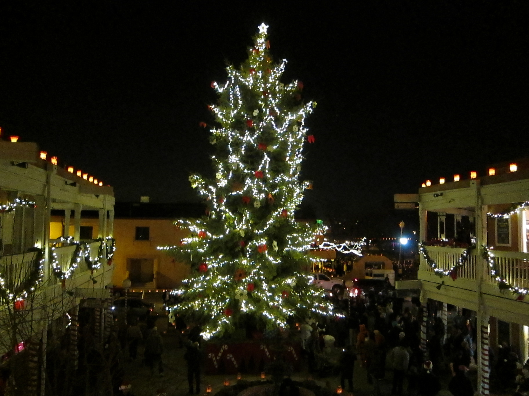 wordless wednesday old town christmas i love new mexico blog